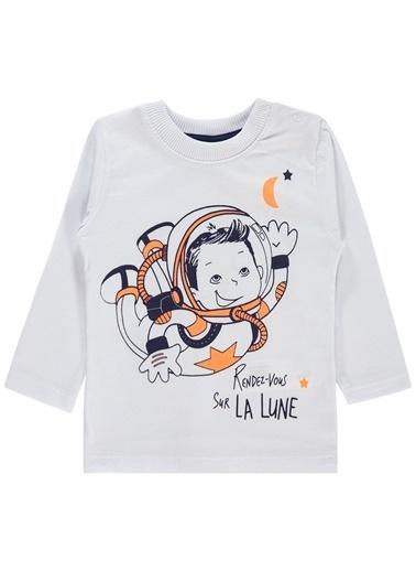 Civil Baby Civil Baby Erkek Bebek Sweatshirt 6-18 Ay Beyaz Civil Baby Erkek Bebek Sweatshirt 6-18 Ay Beyaz Beyaz